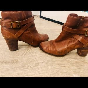 Cole Hann brown Leather booties